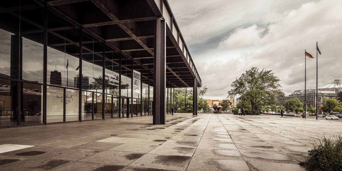 Neue Nationalgalerie - Berlin<strong>- entrez -</strong>