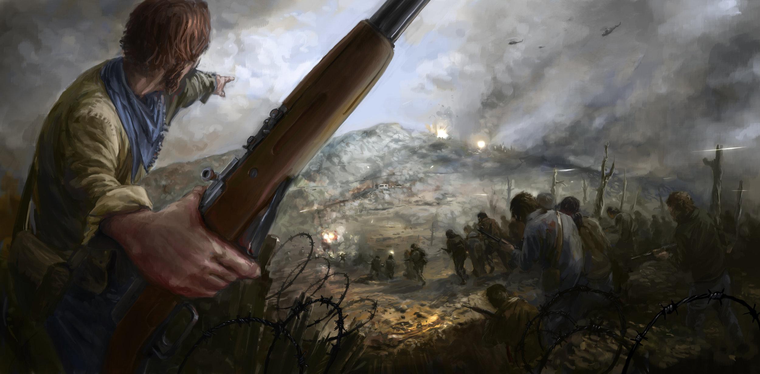 Capture the Hill by  Filip Storch.  https://skvor.deviantart.com/