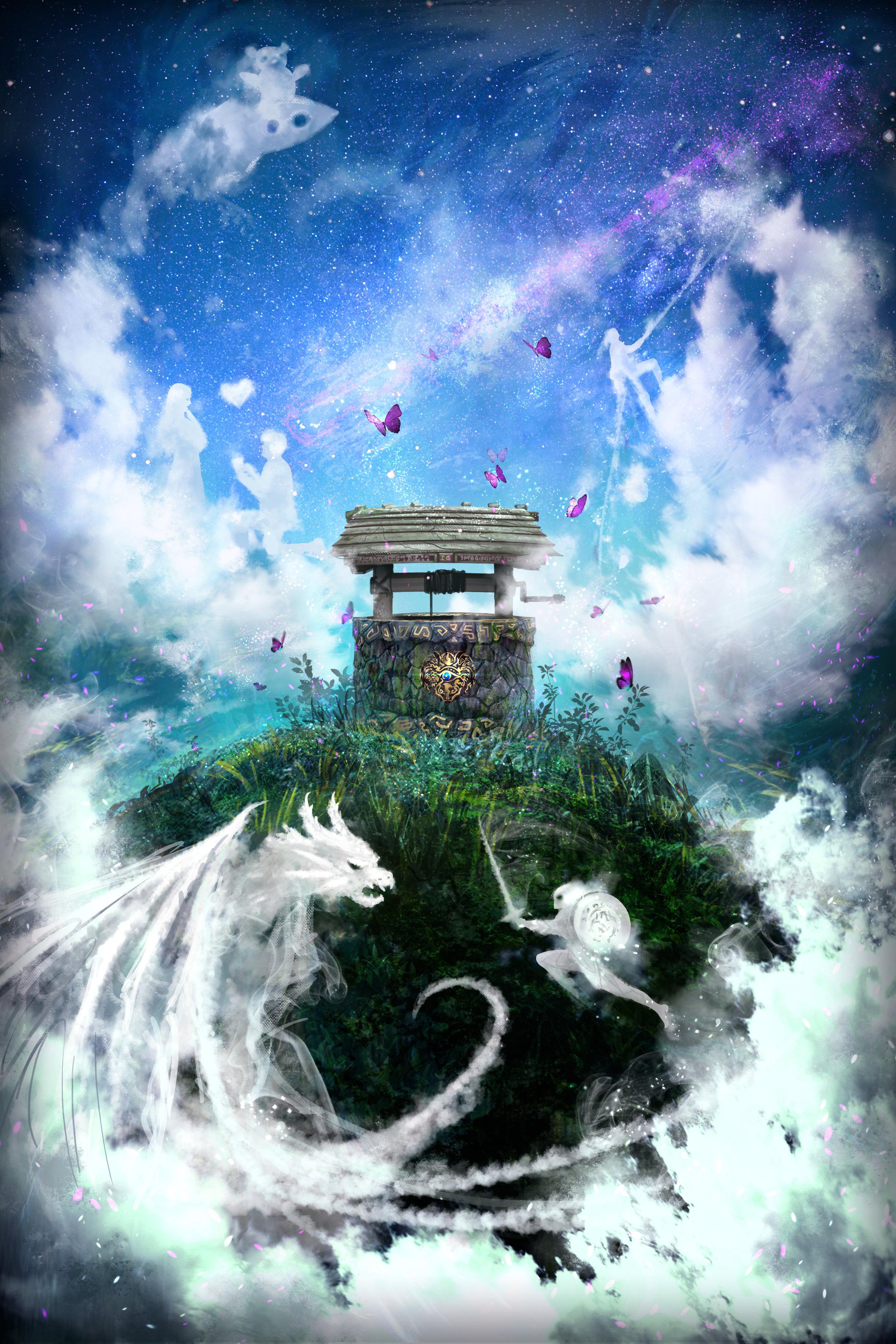The Dream Well by  Russell Goh.  https://ultragriffy.deviantart.com/