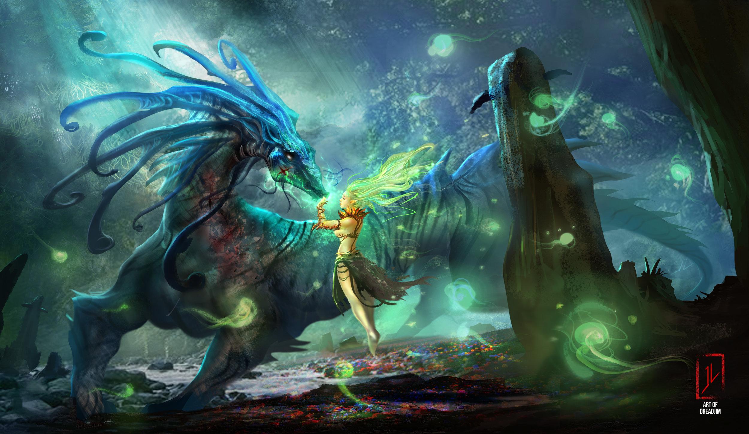 Gaia's Embrace by  Dreadjim.  https://www.dreadjim.com/