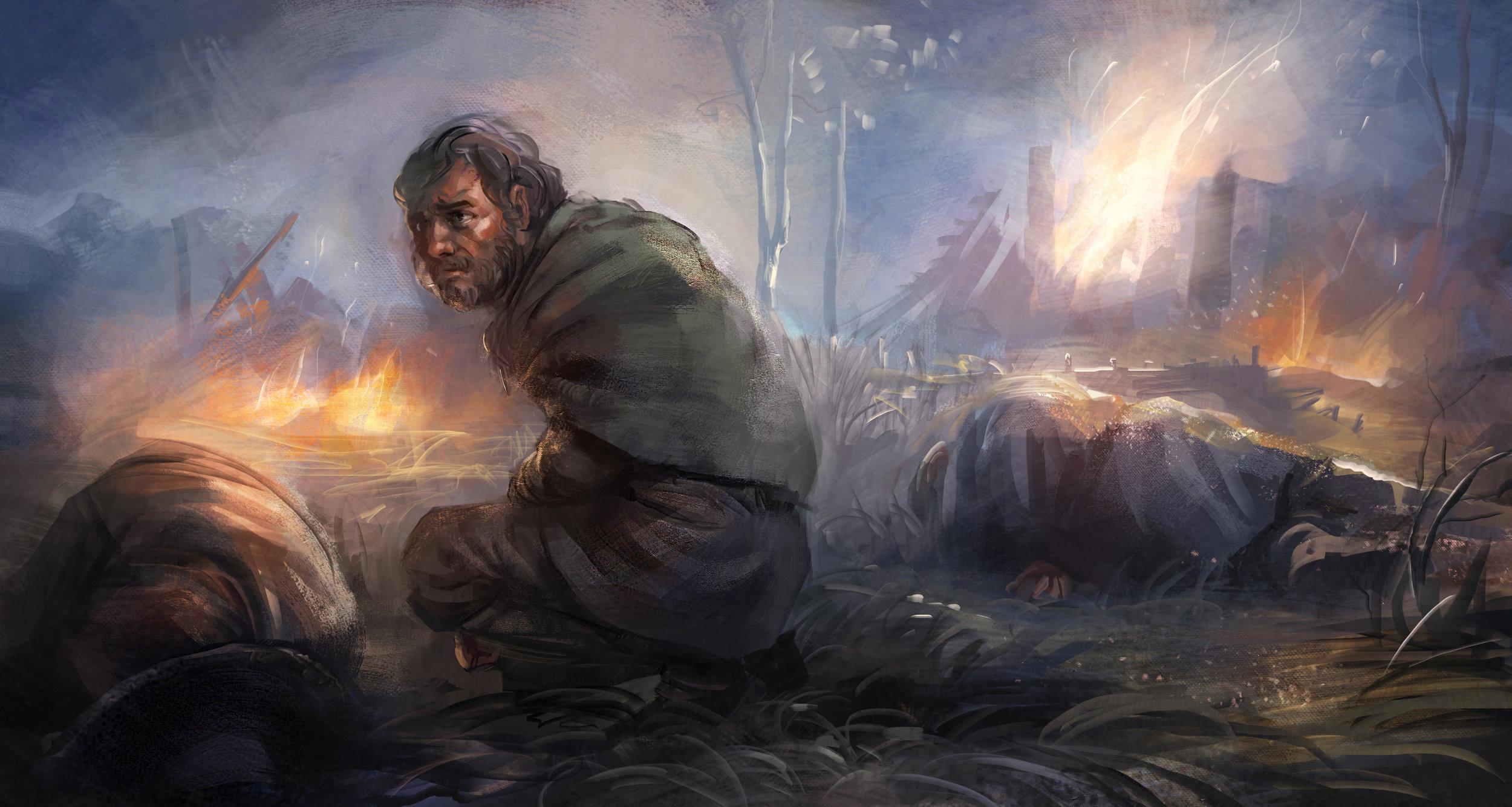 Last Survival by  Filip Storch.  https://skvor.deviantart.com/