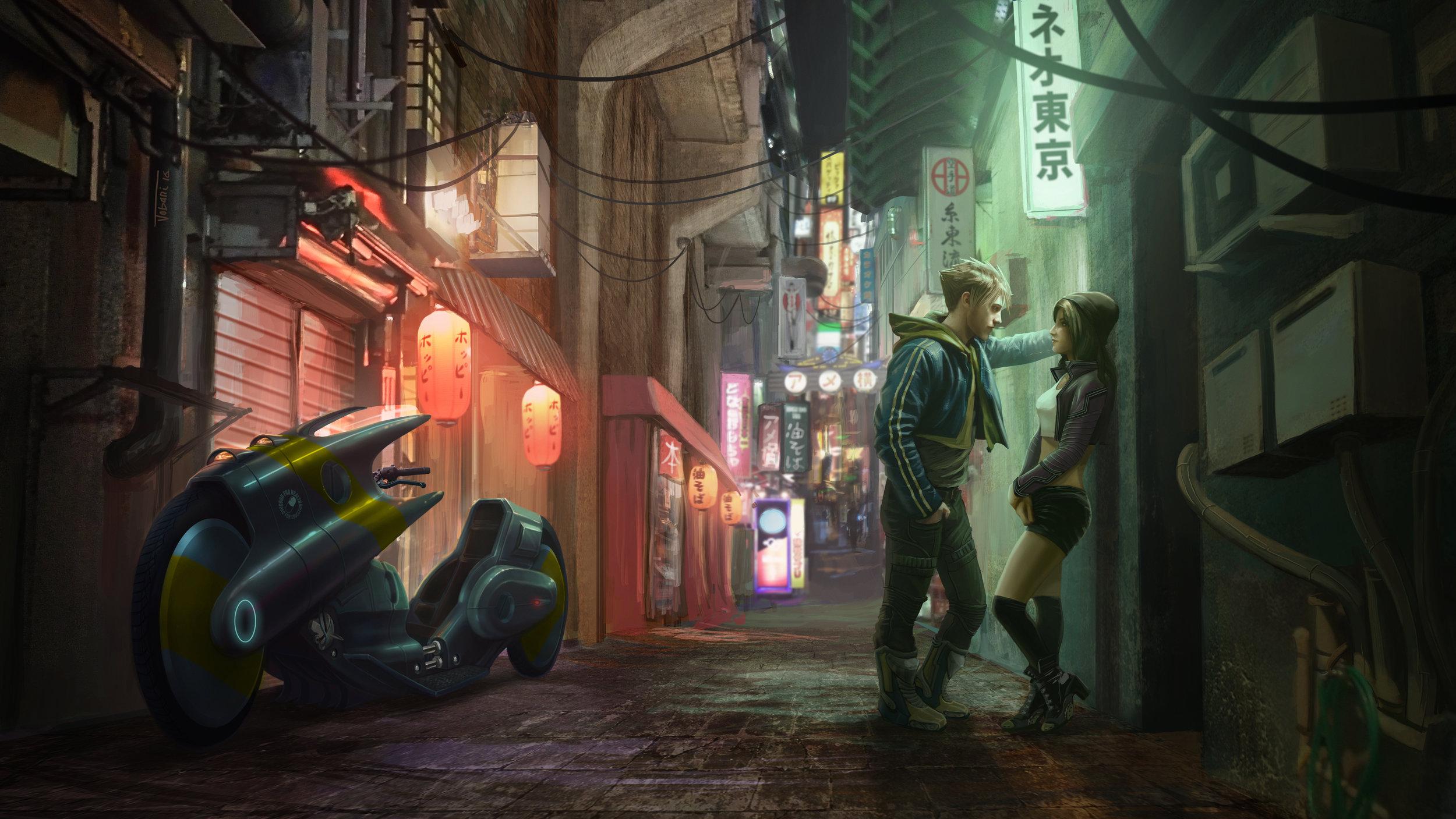 Neo Tokyo by  Carlos Jobani.    https://rikud0k0.deviantart.com/