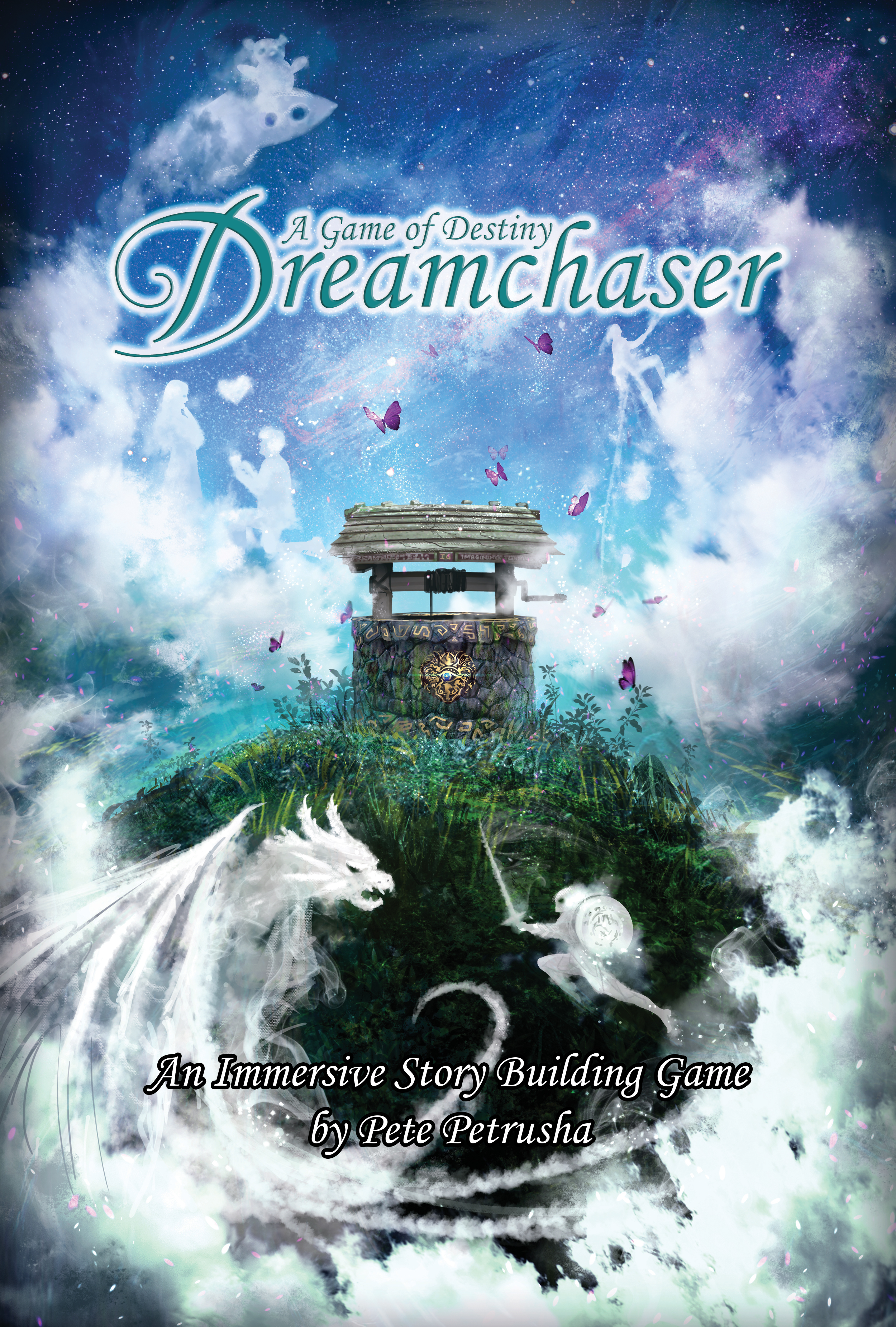 The Front Cover of  Dreamchaser: A Game of Destiny. (Core Book)