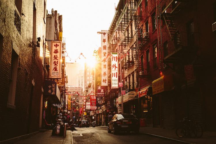 New York's Chinatown, home to Apotheke.