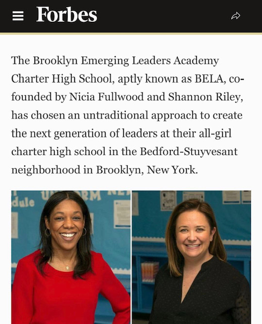 'Lift As You Climb: BELA Charter is Changing the Approach to High School'