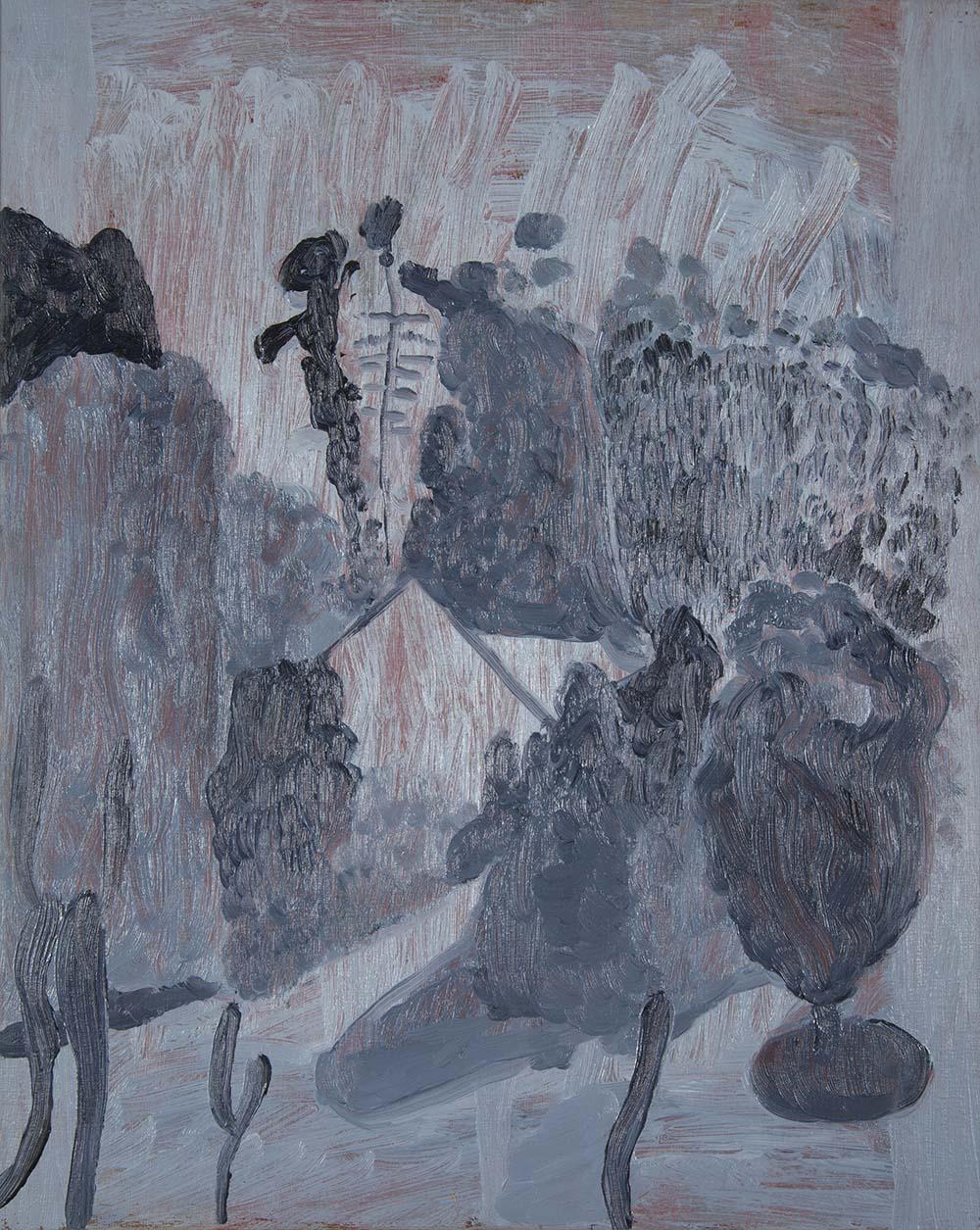 Sintra  oil on panel  2017  32 x 26cm