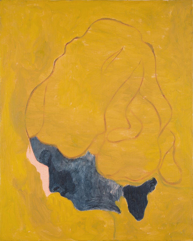 La Mujer  oil on linen  2018  43 x 36cm