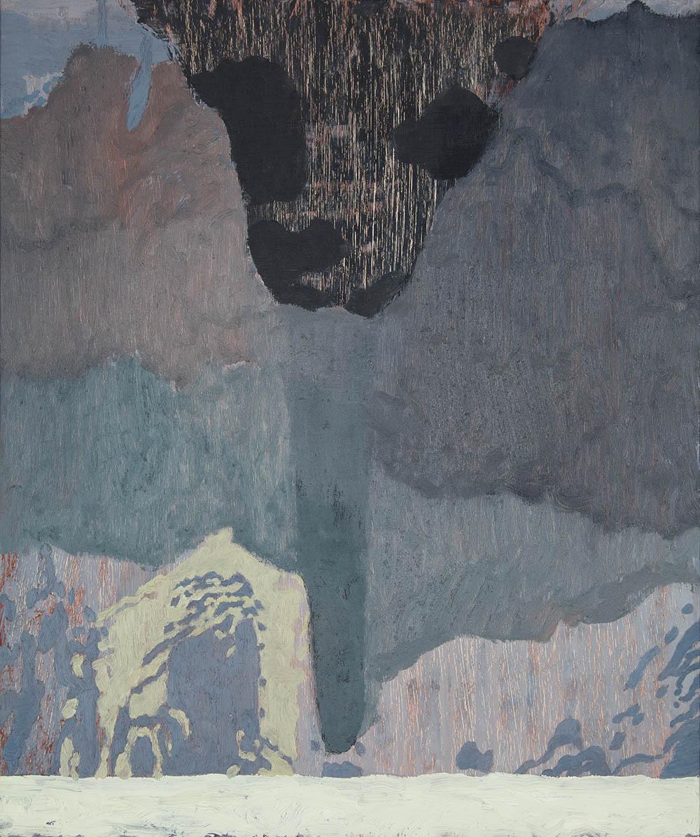 Tigín  oil on panel  2016  37 x 31cm