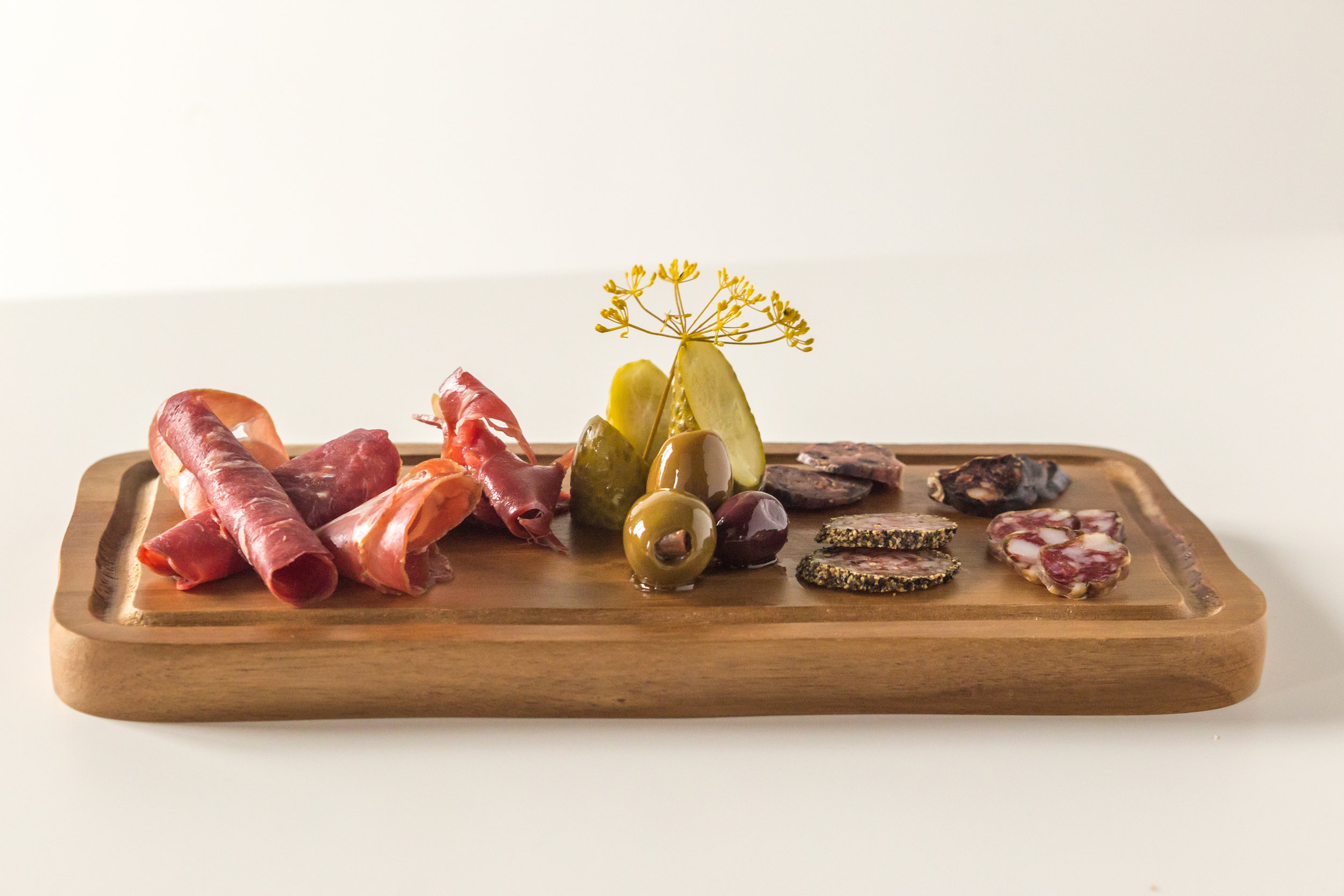 The Cure cured meat platter image