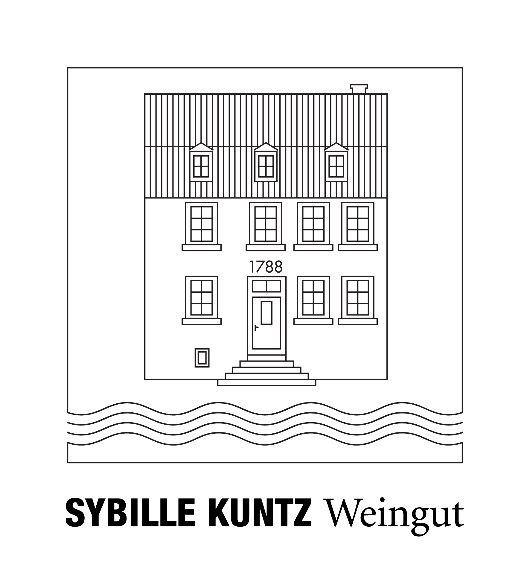 SYBILLE KUNTZ Weingut logo
