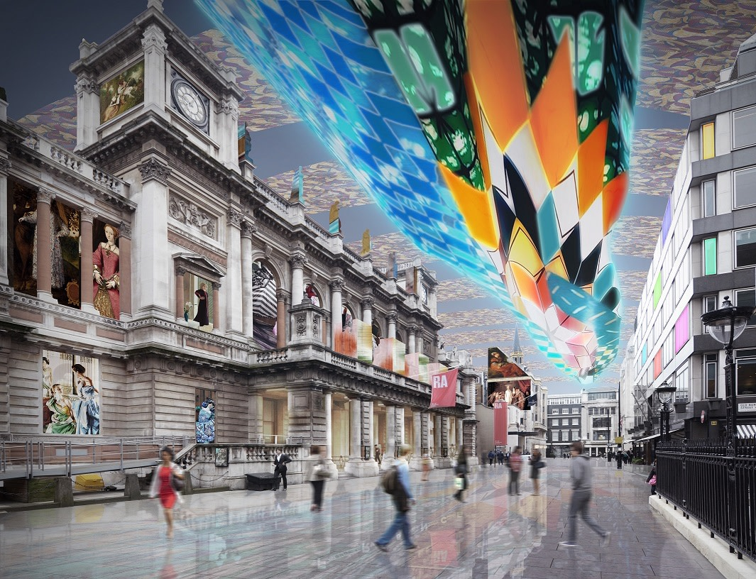 Billowing Glowing, 2014. © WestonWilliamson+Partners / (uncommon) landscape / Yinka Shonibare MBE RA