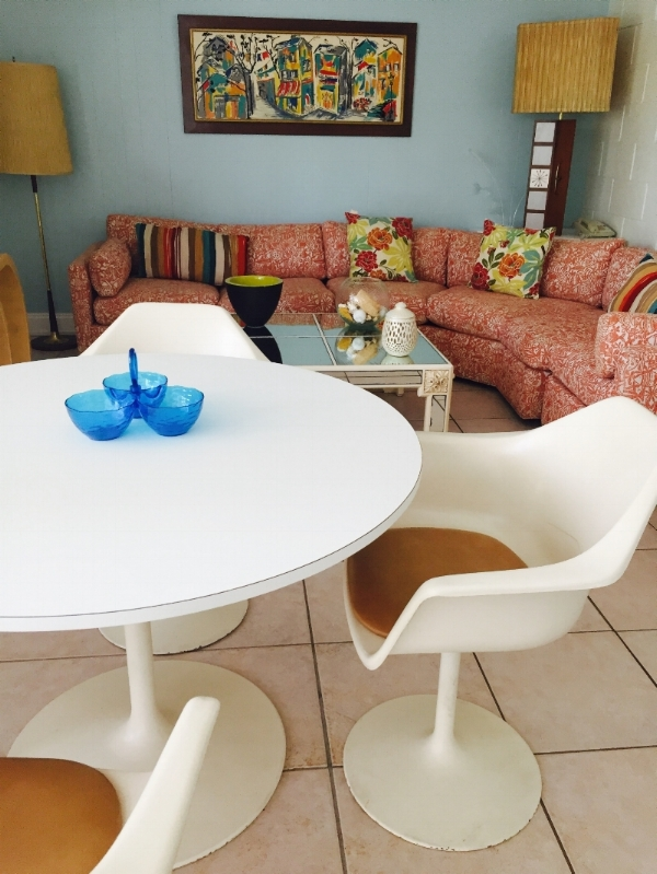 """Our Tulip chair is """"Retro Vibes"""" goals"""