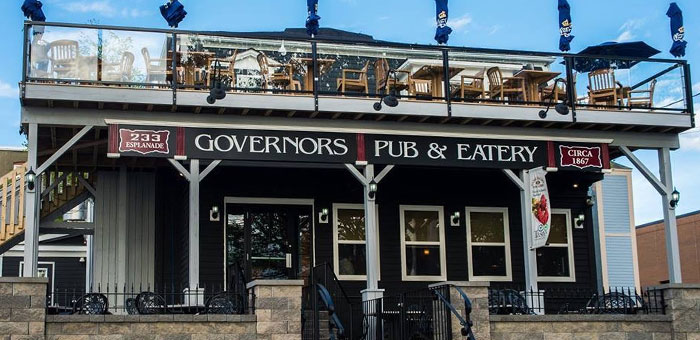 Photo from Governor's Pub website