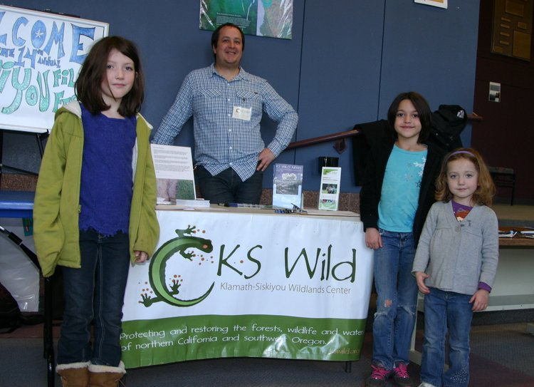 Young activists stop by the KS Wild booth