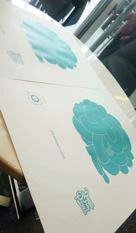 Project Twins - Damn Fine Print Screenprint
