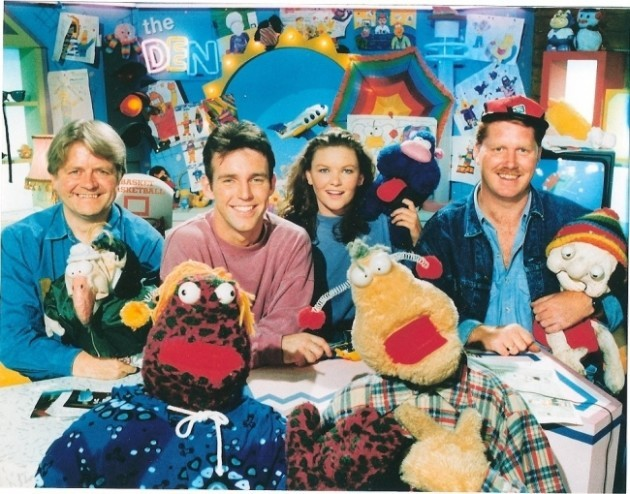 'The Den' in the 90s Copyright RTÉ