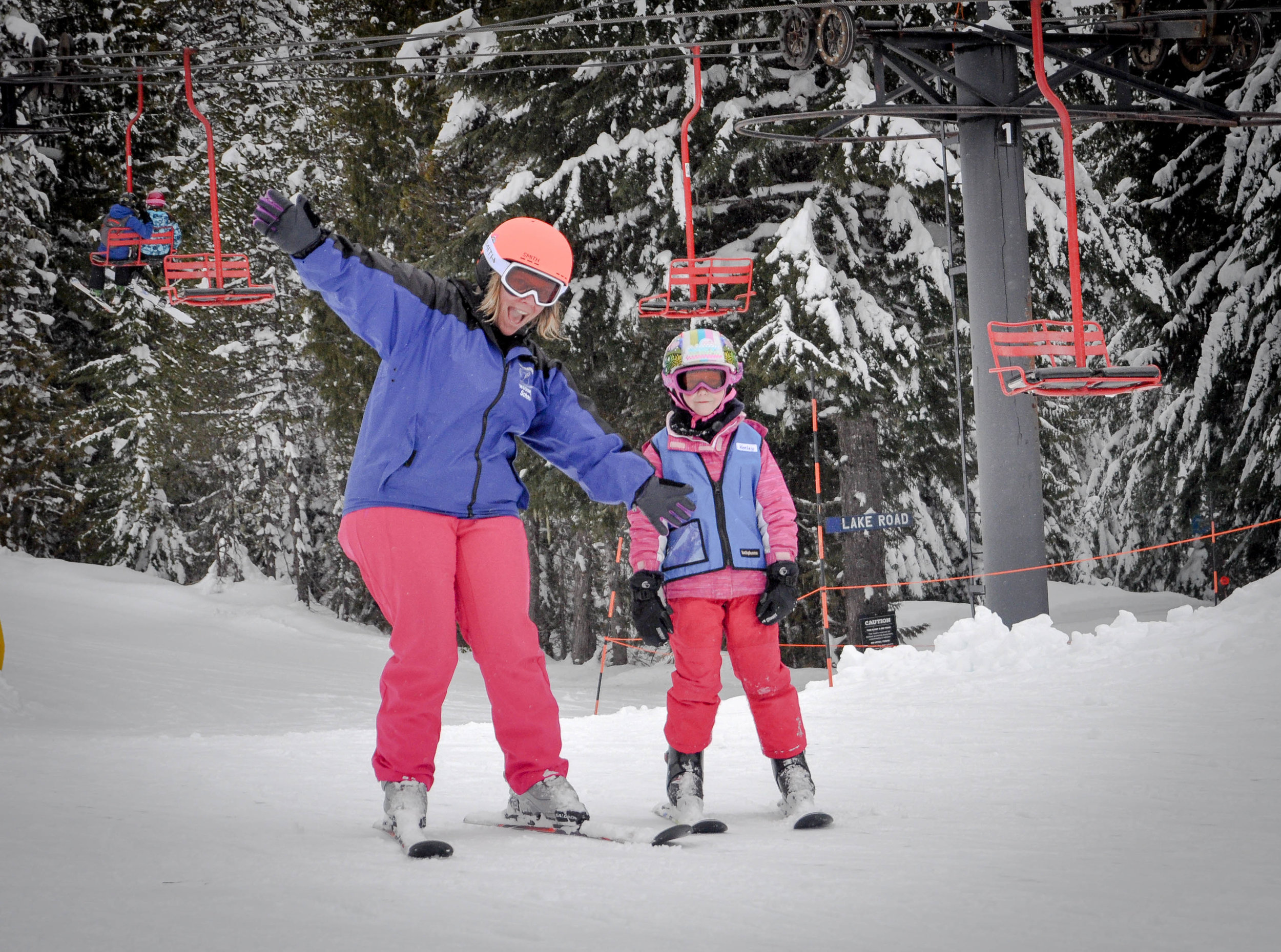 Click here to read our helpful ski teacher's tips!