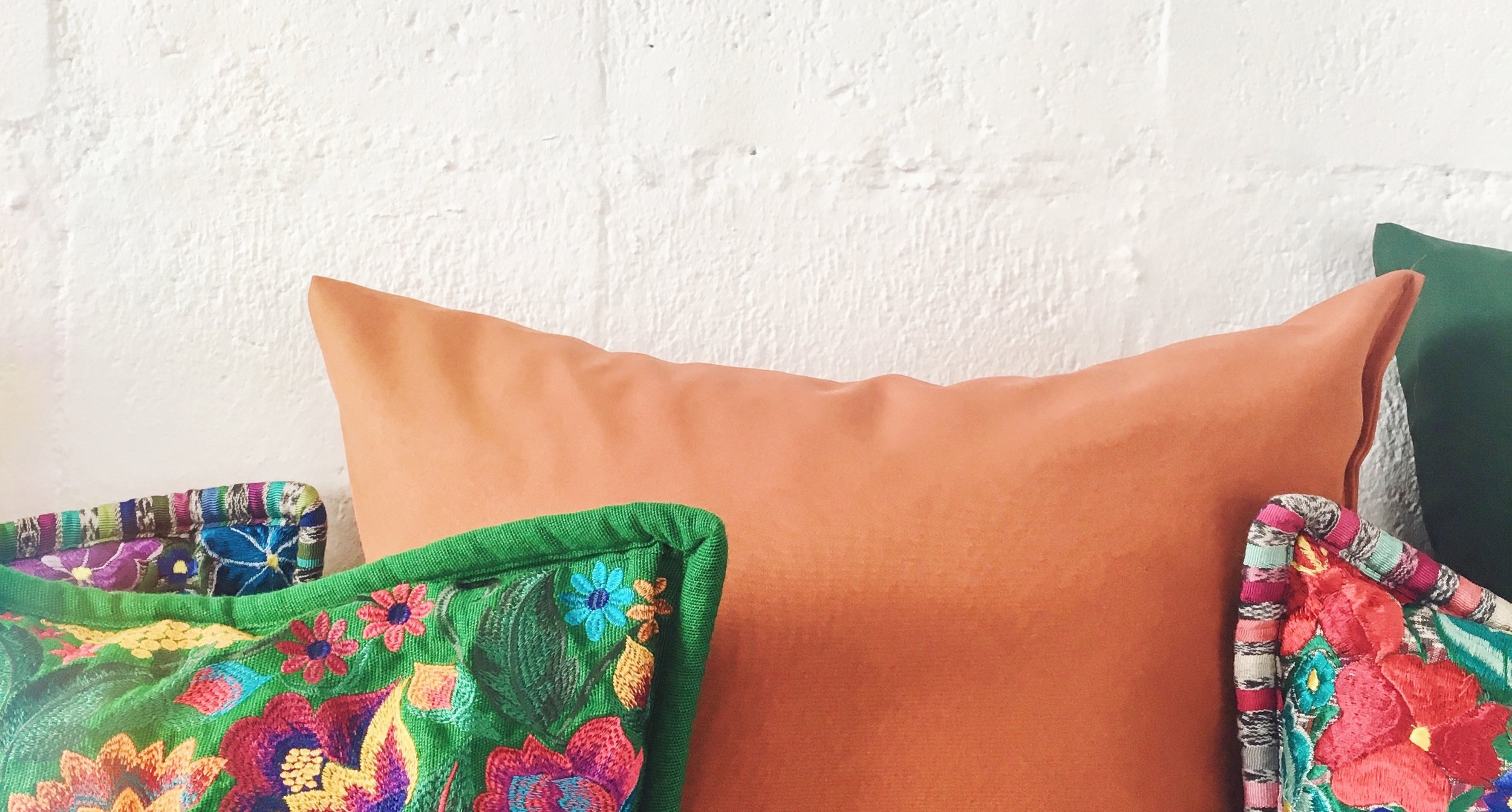 Colors and textures are part of the inspiration.  Photo via Carla Cob @ carlacob