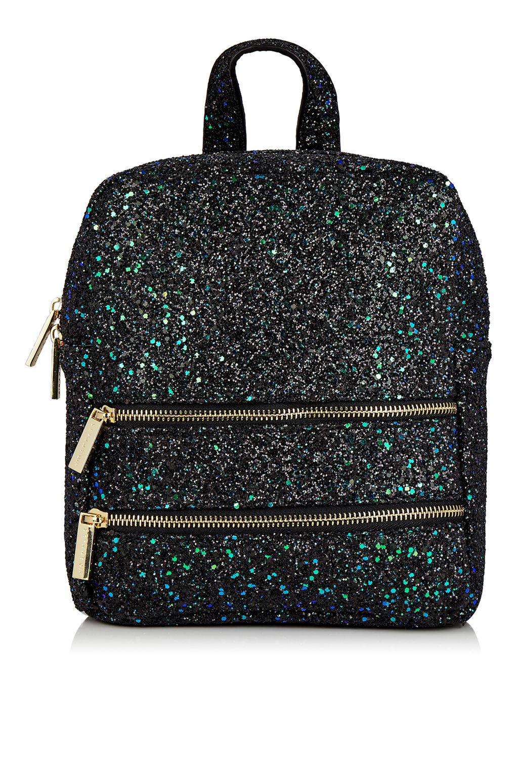 Topshop Glitter Backpack