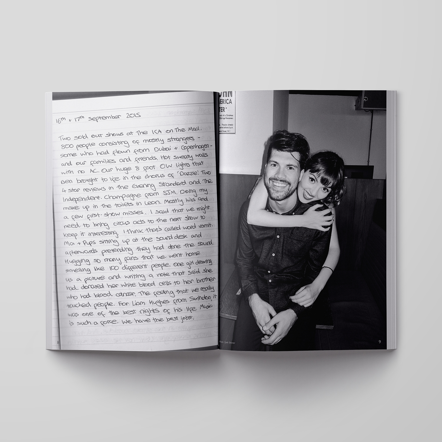 This is a page of their journal. They have the coolest merchandise on their website. Go get it    here!