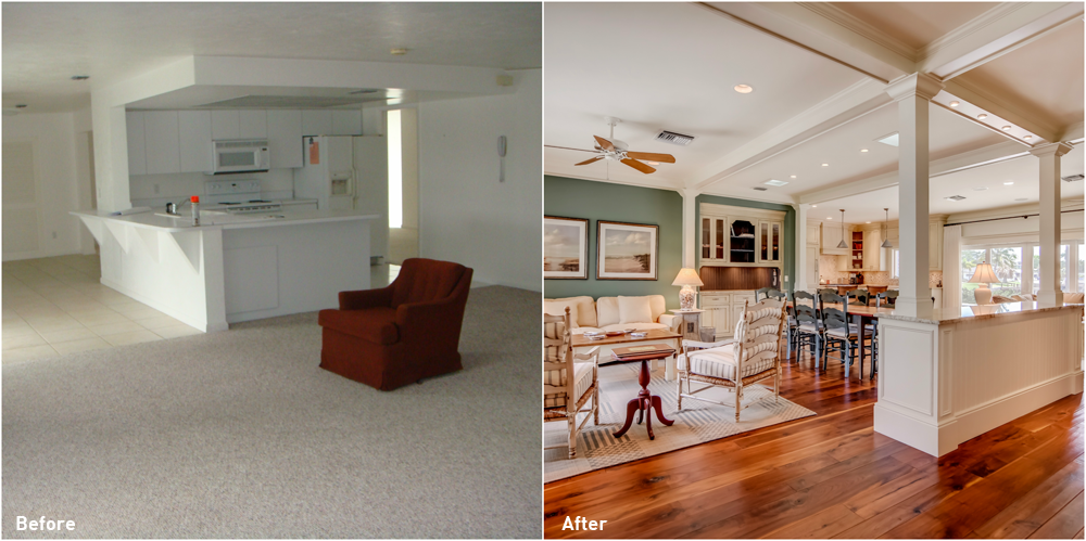 Glenview Manor Before and After Renovation