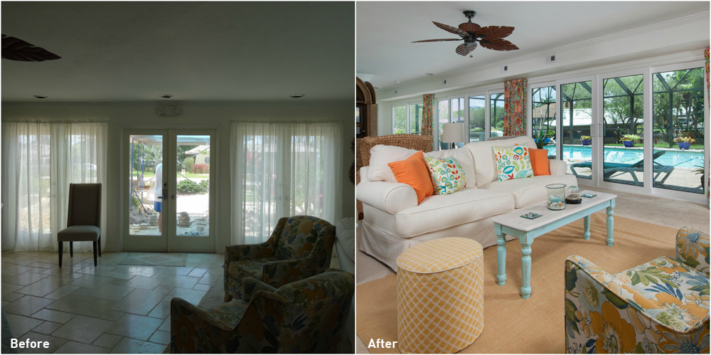 5245 Williams Drive Before and After Renovation