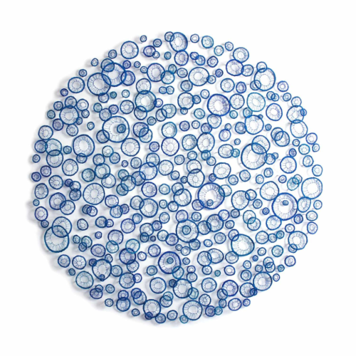 2015 by Meredith Woolnough, 93 cm by 93cm