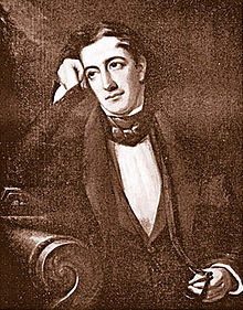 1834 portrait of Lewis Charles Levin, image courtesy of  Wikipedia