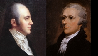 Burr and Hamilton, via History.com