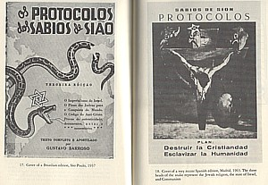 Images from various editions of the Protocols, via  University of California, Santa Barbara
