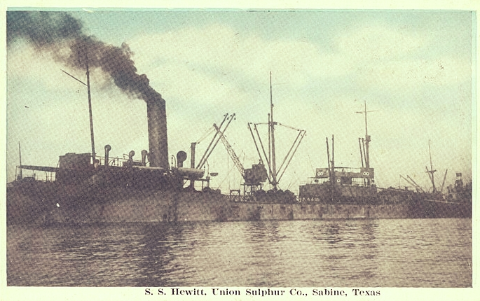 The S. S. Hewitt, via  Wikimedia Commons