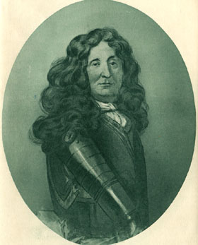 Bénigne Dauvergne de Saint-Mars, governor of the Pignerol prison, via  Wikimedia Commons