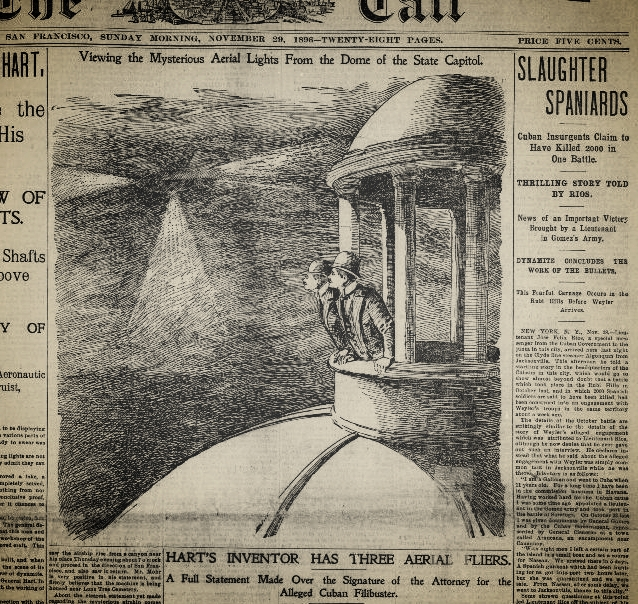 The San Francisco  Call , 29 Nov. 1896, clearly engaging in Yellow Journalism, via  Chronicling America