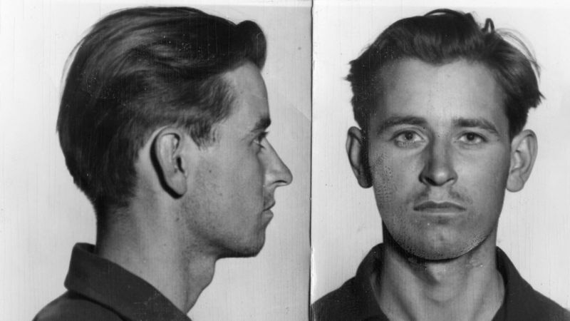 A young James Earl Ray, already in trouble with the law, via the   LA Times