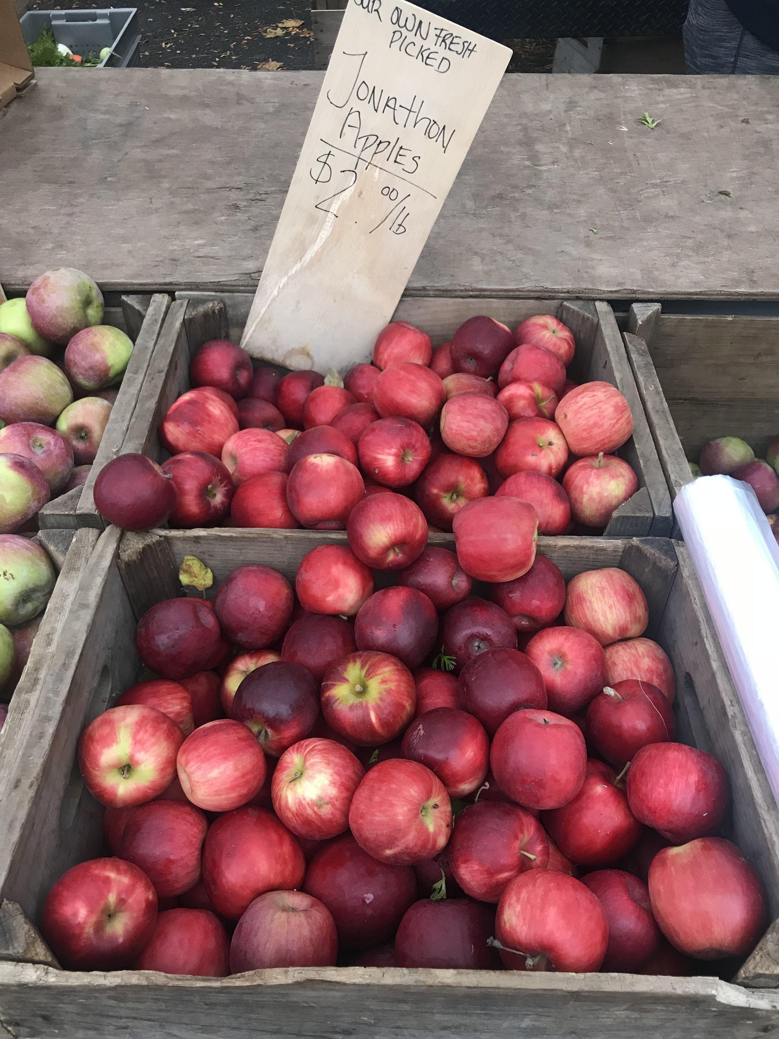 Brookline farmers market score.