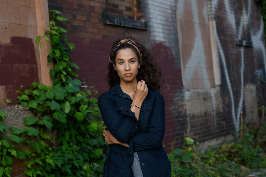 Anna Ciaccio photographed on August 9, 2018 in the Strip District. 