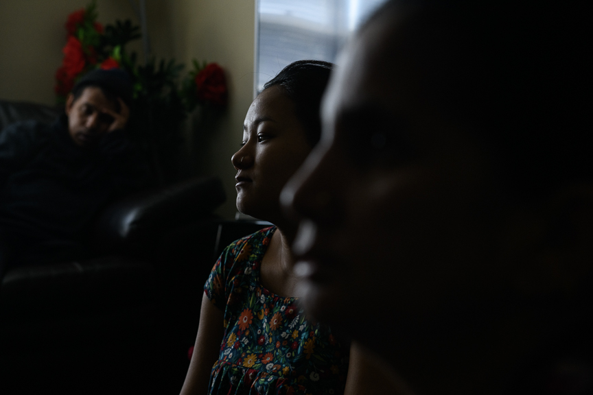 In the wake of the Tree of Life Synagogue shooting, Sanjeeb Rai, 22, a Bhutanese refugee speaks about her life in the Pittsburgh and her thoughts on facing hate on Tuesday, October 30, 2018 in Baldwin, Pa.