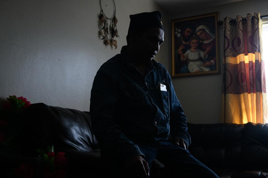 Dev Kumar Damai, 42, a Bhutanese refugee speaks about being a refugee in Pittsburgh.