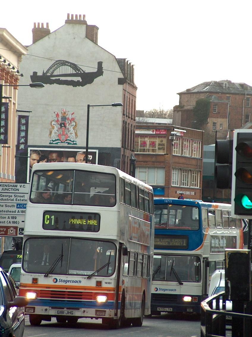 Newcastle-bus