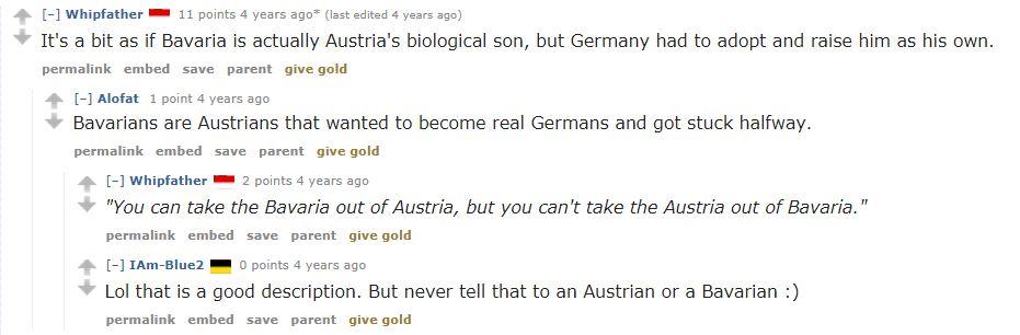 Typical Feelings on Bavaria