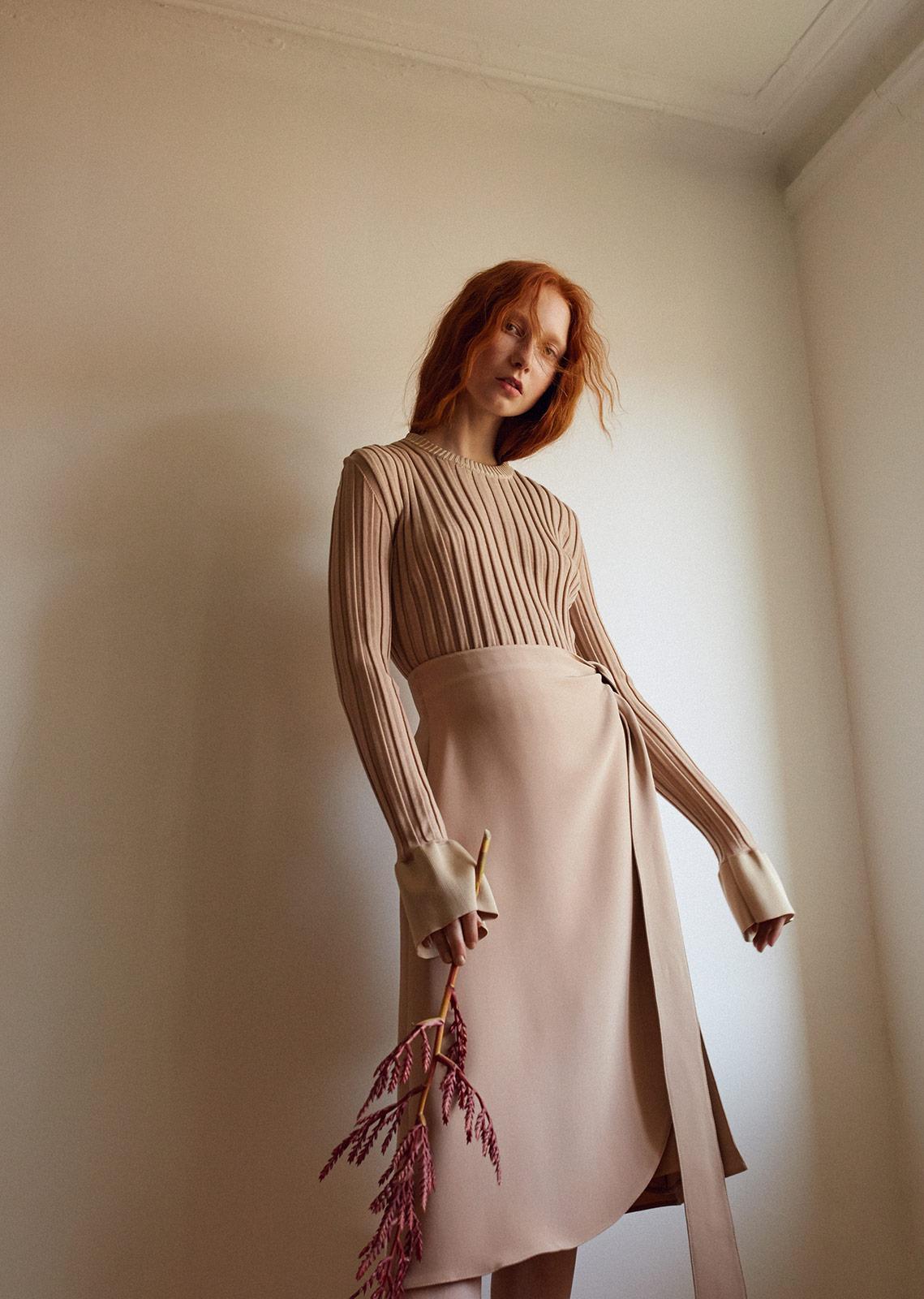 Top & Skirt: Celine