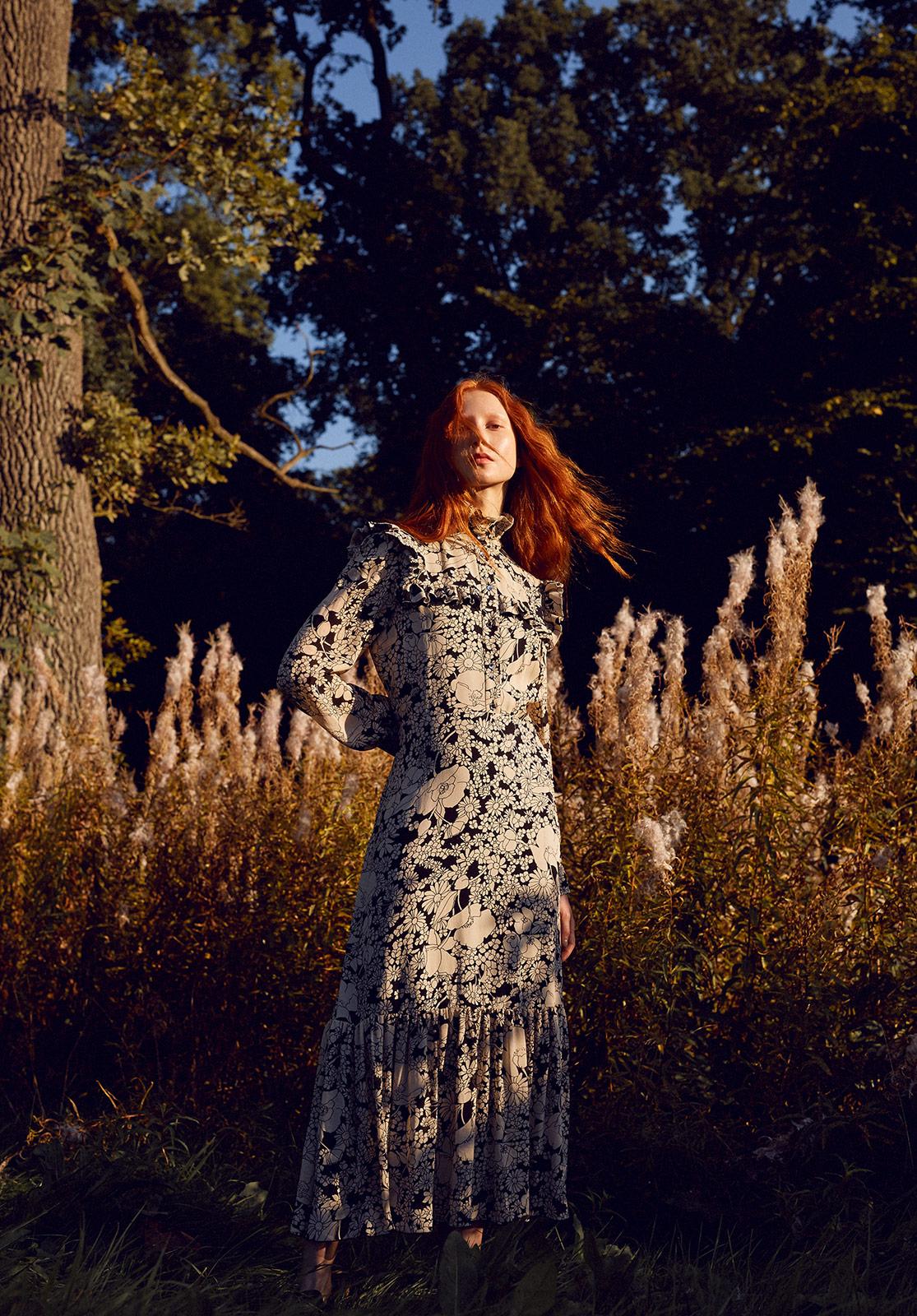 Dress: Saint Laurent