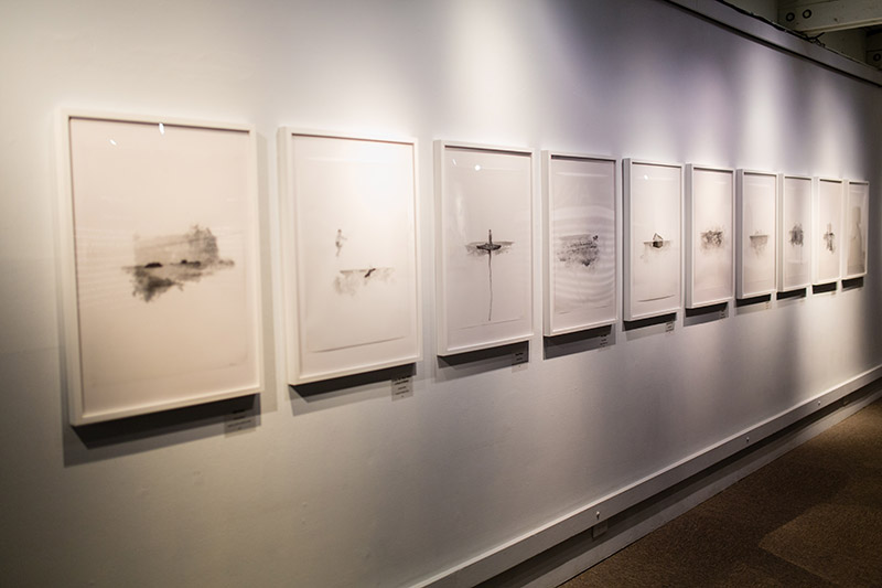Transpose, Graduation Exhibition, installation, 2015