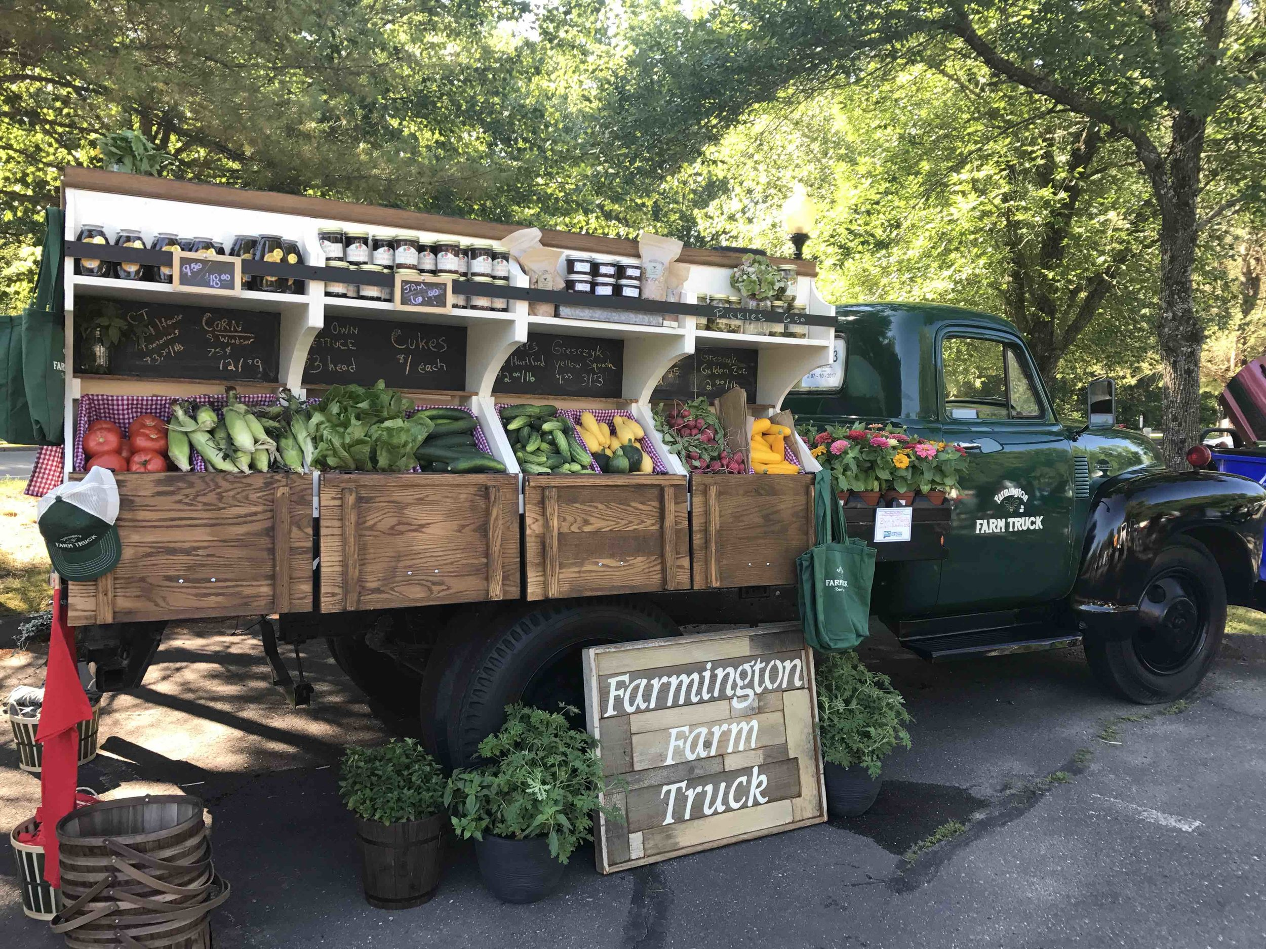 Locally Made Farm Goodies from Farmington Farm Truck