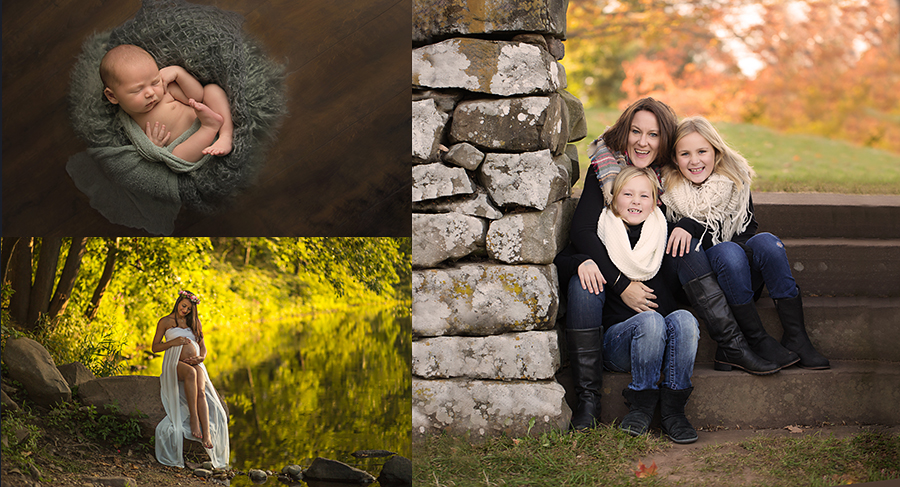 A Custom Portrait Session from Acorn Talk Photography