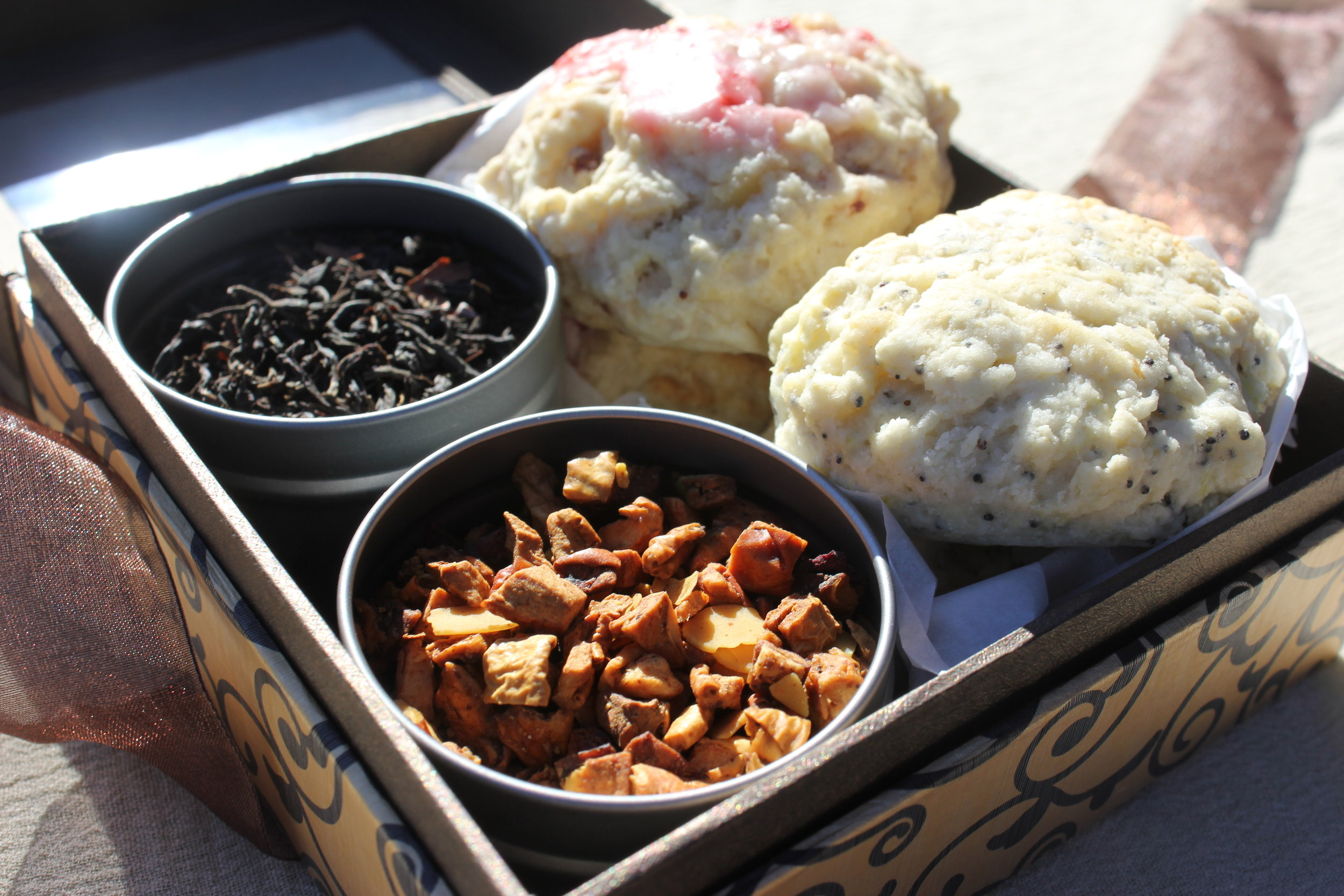 Tea and Scones Gift Pack from Culteavo