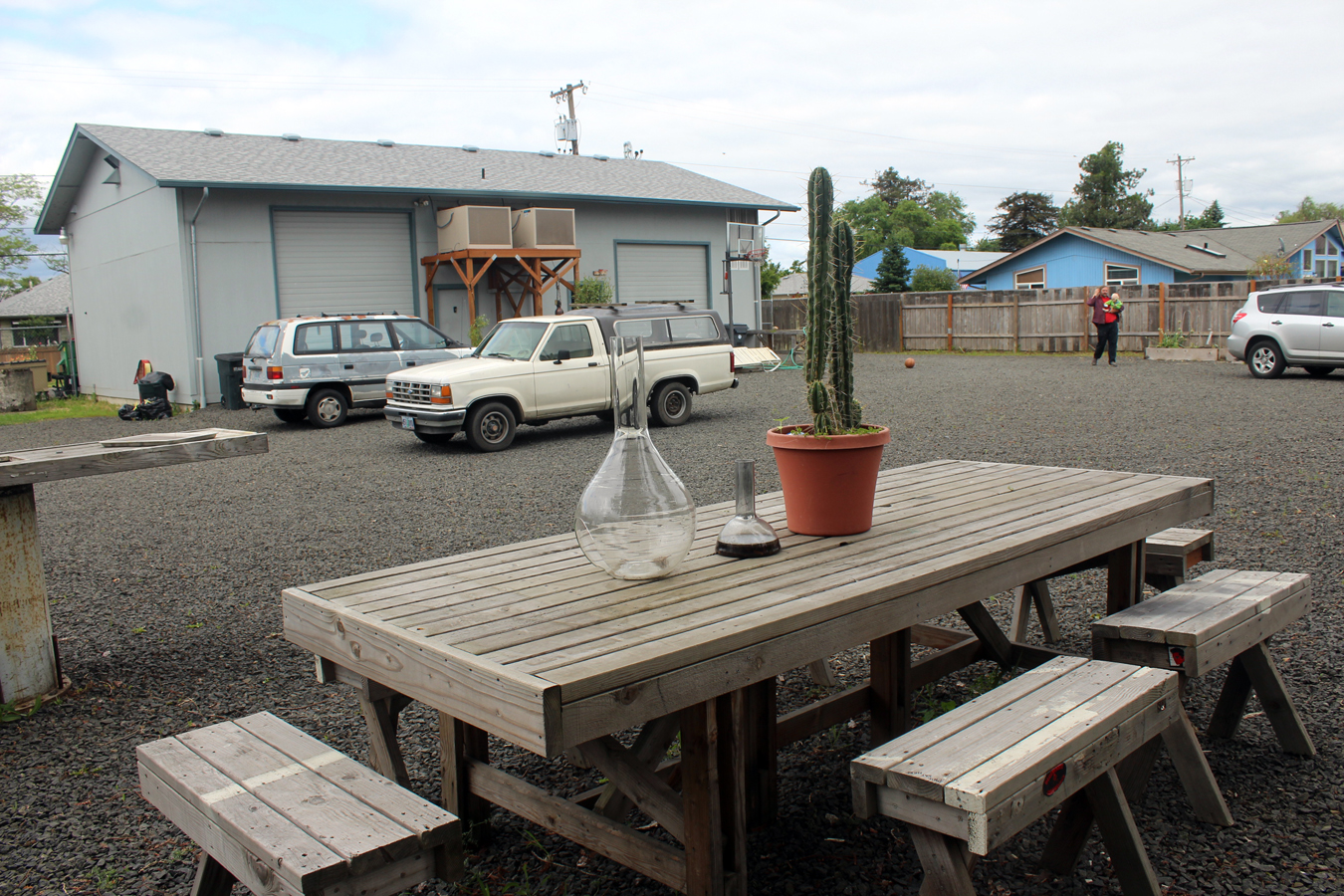 Picnic Table and Outdoor Area