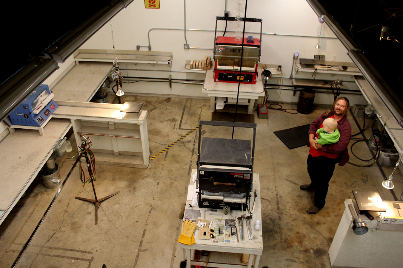Workroom from Above