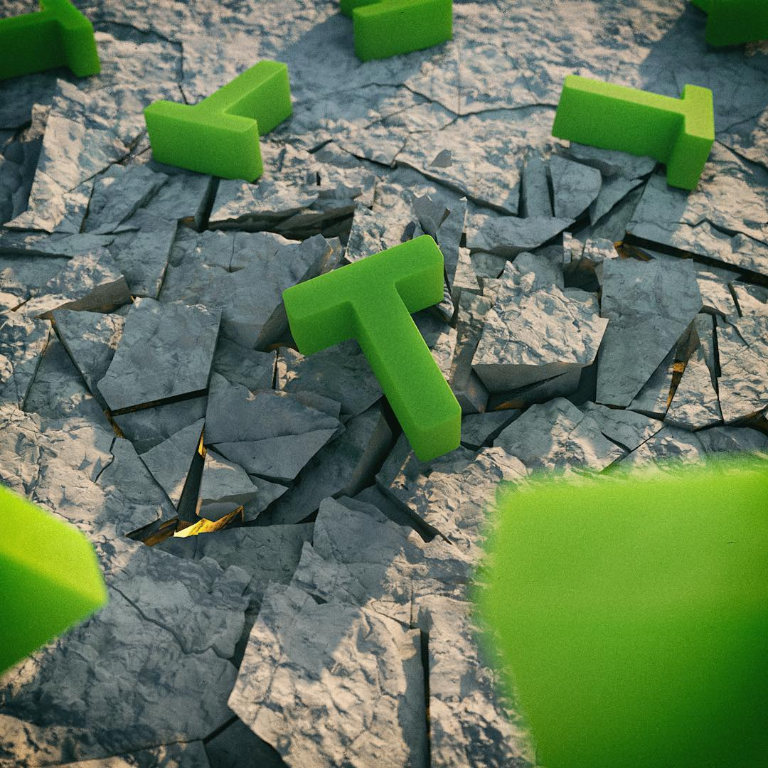 A daily render experimenting with a voronoi fracture plugin