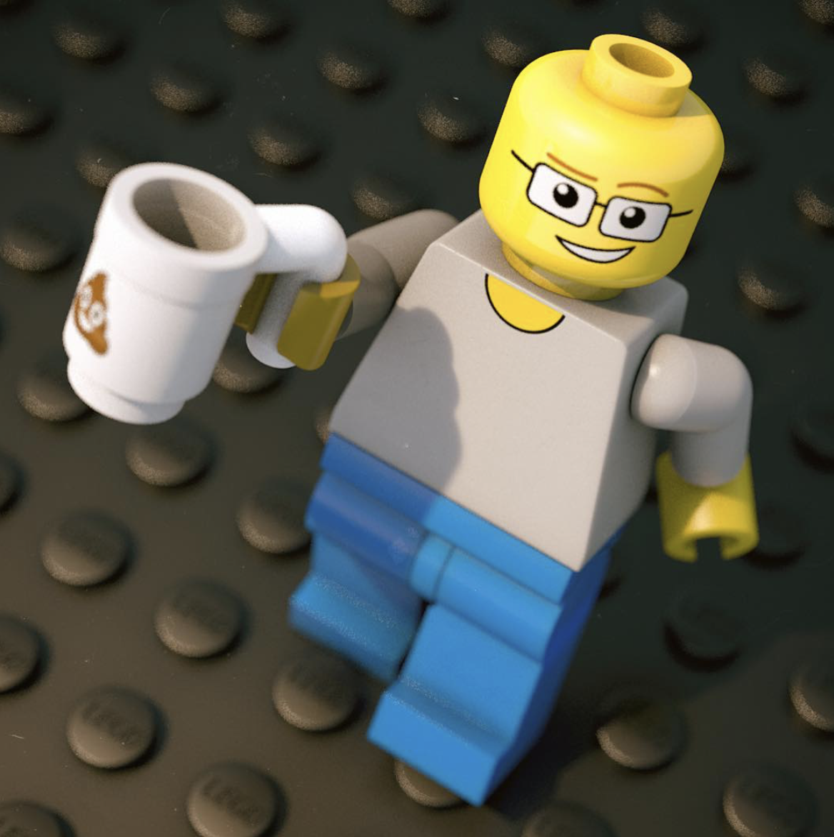 Me, as a Lego Minifigure